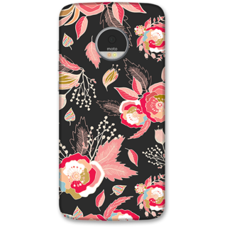 Moto Z Play Designer Hard-Plastic Phone Cover from Print Opera -Beautiful flowers