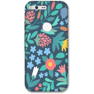 Google pixel Designer Hard-Plastic Phone Cover from Print Opera -Flowers