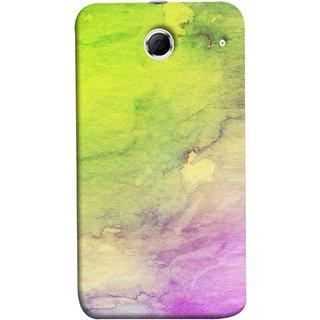 FUSON Designer Back Case Cover For Lenovo K880 (Artwork Acid Bright Wallpaper Purple Green Mix)