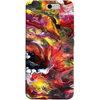 FUSON Designer Back Case Cover For InFocus M812 (Art Gallery Style Wallpaper Wow Perfect Wall Paint)