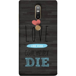 FUSON Designer Back Case Cover For Lenovo Phab 2 Plus :: Lenovo Phab2+ (Hearts Feeling Loved With Each Other Valentine Day)