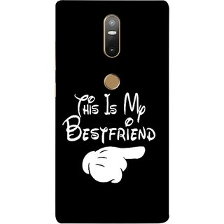 FUSON Designer Back Case Cover For Lenovo Phab 2 Plus :: Lenovo Phab2+ (Friends Always Together Dosti Yaari Masti Maja Fun)