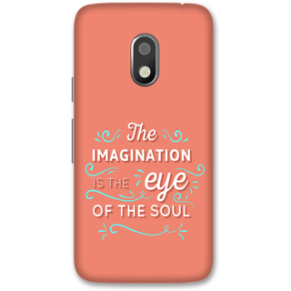 Moto G4 Play Designer Hard-Plastic Phone Cover from Print Opera -Typography