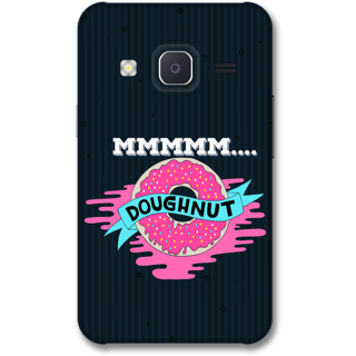Samsung J2 2015 Designer Hard-Plastic Phone Cover from Print Opera -Doughnut