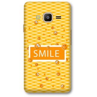 Samsung Z2 2016 Designer Hard-Plastic Phone Cover from Print Opera -Smile