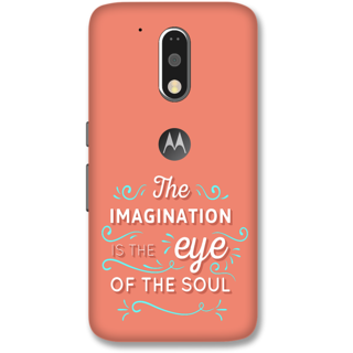 Moto G4 Plus Designer Hard-Plastic Phone Cover from Print Opera -Typography