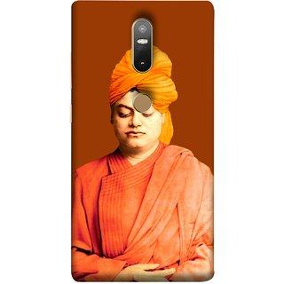 FUSON Designer Back Case Cover For Lenovo Phab 2 Plus :: Lenovo Phab2+ (Devotion Quotes Of Swami Equated Raja Yoga Spirit)