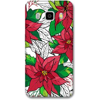 Samsung J5 2016 Designer Hard-Plastic Phone Cover from Print Opera -Flowers