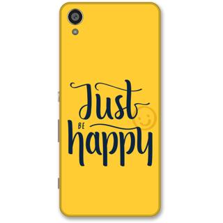 Sony Xperia XA Designer Hard-Plastic Phone Cover from Print Opera -Just happy
