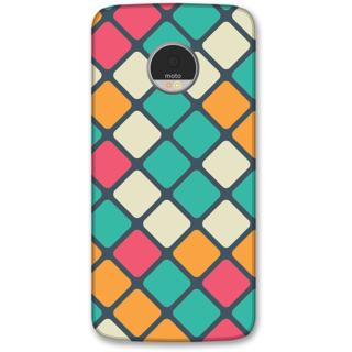 Moto Z Designer Hard-Plastic Phone Cover from Print Opera -Box texture