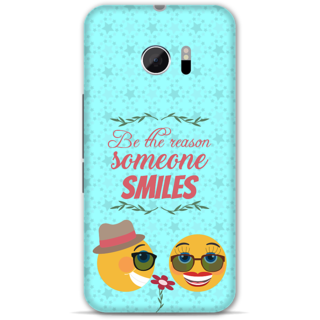 Htc one M10 Designer Hard-Plastic Phone Cover from Print Opera -Smiles