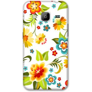 Samsung J3 2016 Designer Hard-Plastic Phone Cover from Print Opera -Colorful flowers