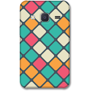 Samsung J2 2015 Designer Hard-Plastic Phone Cover from Print Opera -Box texture
