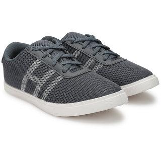 Treadfit Men's Gray Lace-up Casual Shoes