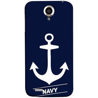 FUSON Designer Back Case Cover For Lenovo S820 (Sea Ocean Nevy Soldiers Fighter Plains Ultrasonic )