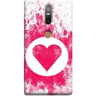 FUSON Designer Back Case Cover For Lenovo Phab 2 Plus :: Lenovo Phab2+ (Pink Red Wallpapers Flowers Lovers Boyfriends Black)