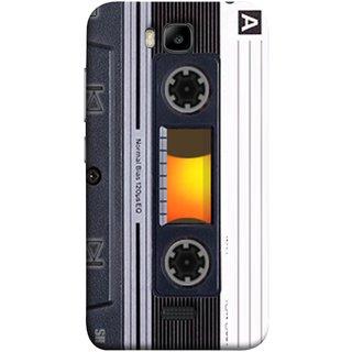 FUSON Designer Back Case Cover For Huawei Honor Bee :: Huawei Honor Bee Y5c (Menu Playlist Pause Fast Forward Backwards Black )