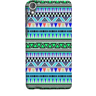 FUSON Designer Back Case Cover For HTC Desire 825 (Tribal Patterns Colourful Eye Catching Verity Different )