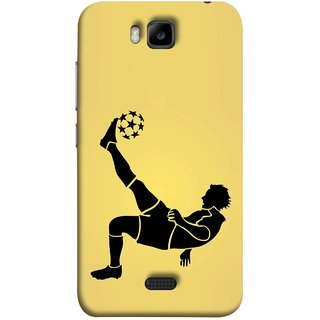 FUSON Designer Back Case Cover For Huawei Honor Bee :: Huawei Honor Bee Y5c (Uefa Champions League Starball Player Fifa )