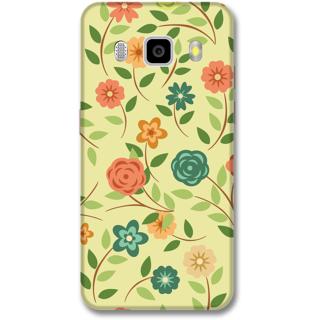 Samsung J5 2016 Designer Hard-Plastic Phone Cover from Print Opera -Colorful flowers