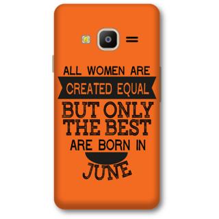 Samsung Z2 2016 Designer Hard-Plastic Phone Cover from Print Opera -Women born in June