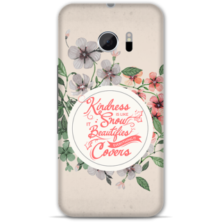 Htc one M10 Designer Hard-Plastic Phone Cover from Print Opera -Quote on kindness