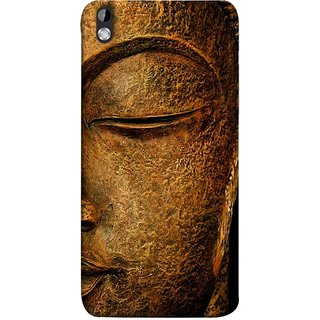 FUSON Designer Back Case Cover For HTC Desire 816 :: HTC Desire 816 Dual Sim :: HTC Desire 816G Dual Sim (Gautam Buddha Statue Scenary Lord Siddharth)