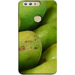 FUSON Designer Back Case Cover For Huawei Honor 8 (Jungle Sweet Villages Fruits Hapoos Langda )