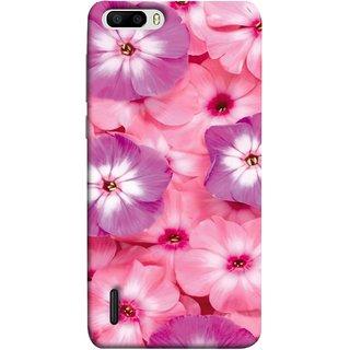 FUSON Designer Back Case Cover For Huawei Honor 6 Plus (Floral Patterns Digital Textiles Florals Design Patterns)