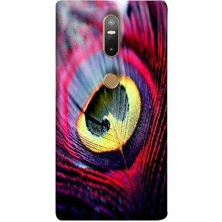 FUSON Designer Back Case Cover For Lenovo Phab 2 Plus :: Lenovo Phab2+ (Close Up View Of Eyespot On Male Peacock Feather)