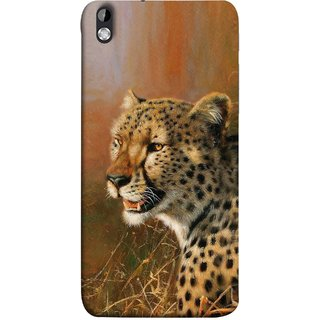 FUSON Designer Back Case Cover For HTC Desire 816 :: HTC Desire 816 Dual Sim :: HTC Desire 816G Dual Sim (Jungle King Stearing Angry Roaring Loud Aslan Panther)