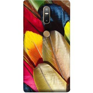 FUSON Designer Back Case Cover For Lenovo Phab 2 Plus :: Lenovo Phab2+ (Yellow Balck Brown Golden Gold Silver Parrot Red )
