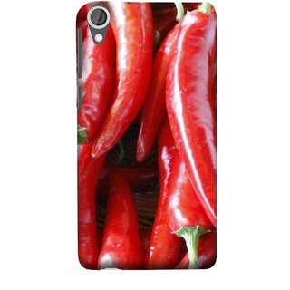 FUSON Designer Back Case Cover For HTC Desire 825 (India Business Hot Sauces Farm Fresh Pickles Kitchen)