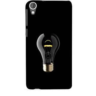 FUSON Designer Back Case Cover For HTC Desire 825 (Hanging Light Bulb In Dark Room Ceiling Darkness )