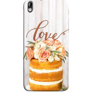 FUSON Designer Back Case Cover For HTC Desire 816 :: HTC Desire 816 Dual Sim :: HTC Desire 816G Dual Sim (Comes True Love You Forever Valentine Couples Lovers)