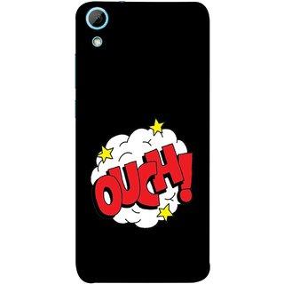 FUSON Designer Back Case Cover For HTC Desire 830 :: HTC Desire 830 Dual Sim (Nice Words Lag Gayi God Bless Ohhh White Cloud Stars )