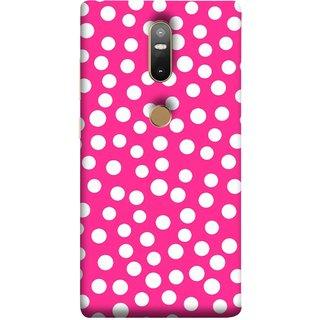 FUSON Designer Back Case Cover For Lenovo Phab 2 Plus :: Lenovo Phab2+ (Small Bubbles Marbles Circle Pink Board)