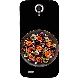 FUSON Designer Back Case Cover For Lenovo S820 (Vegetables Mashrooms Kitchen Best Food Tasty)