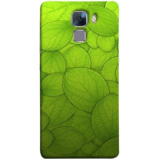 FUSON Designer Back Case Cover For Huawei Honor 7 :: Huawei Honor 7 (Enhanced Edition) :: Huawei Honor 7 Dual SIM (Leaf On Water Ajwain Leaves Beautiful Nice )