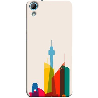 FUSON Designer Back Case Cover For HTC Desire 830 :: HTC Desire 830 Dual Sim (Industrial Best Wallpaper Design India America Asia Uae)