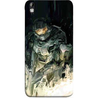 FUSON Designer Back Case Cover For HTC Desire 816 :: HTC Desire 816 Dual Sim :: HTC Desire 816G Dual Sim (Army War Secret Missions Country Saver Fighter)