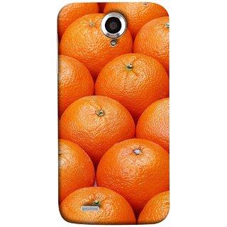 FUSON Designer Back Case Cover For Lenovo S820 (Countryside Scent Of Orange Blossoms Citrun )