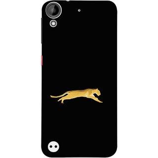 FUSON Designer Back Case Cover For HTC Desire 530 (Wild Jungle Tigers Whisker Roaring Sitting Safari India)