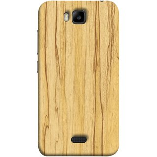 FUSON Designer Back Case Cover For Huawei Honor Bee :: Huawei Honor Bee Y5c (Plywood Good Quality Best Mobile Back Cover )