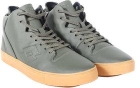 Lotto Men Street Olive/Tan Shoes