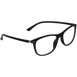 Zyaden Black Rectangle Spectacle Frame FRA-428