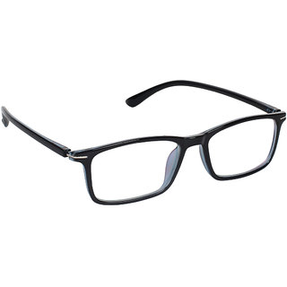 Zyaden Blue Rectangle Spectacle Frame FRA-442