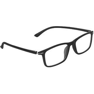 c1551802e7 Buy Zyaden Black Rectangle Spectacle Frame FRA-443 Online - Get 72% Off