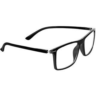 53f023c60b5 Buy Zyaden Black Rectangle Spectacle Frame FRA-421 Online - Get 71% Off