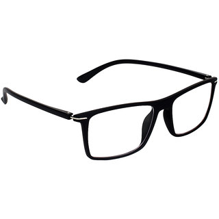 Zyaden Black Rectangle Spectacle Frame FRA-423